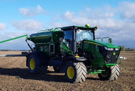 John Deere Air Flow Fertilizer Applicator - 2 bin Variable Rate